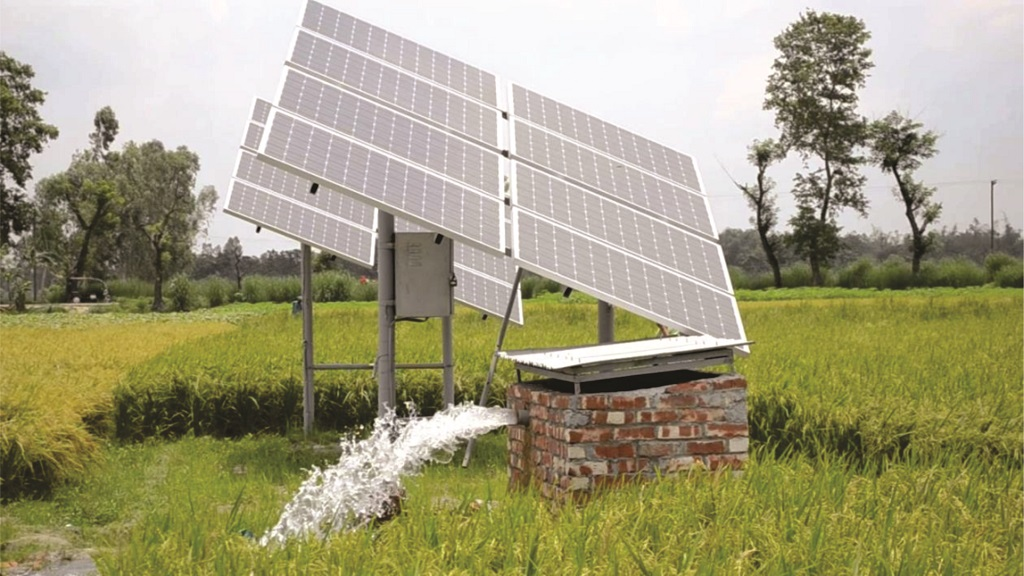 to design the system properly we only install state of the art solar powered water pumps and pv panels having outlet pipe diameters from 1u201d to 6u201d - Irrigation Systems